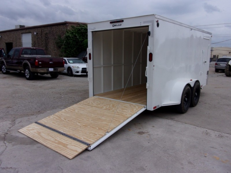 Delco Trailers 16X7 ENCLOSED BUMPERPULL 10K 2019 price $7,995