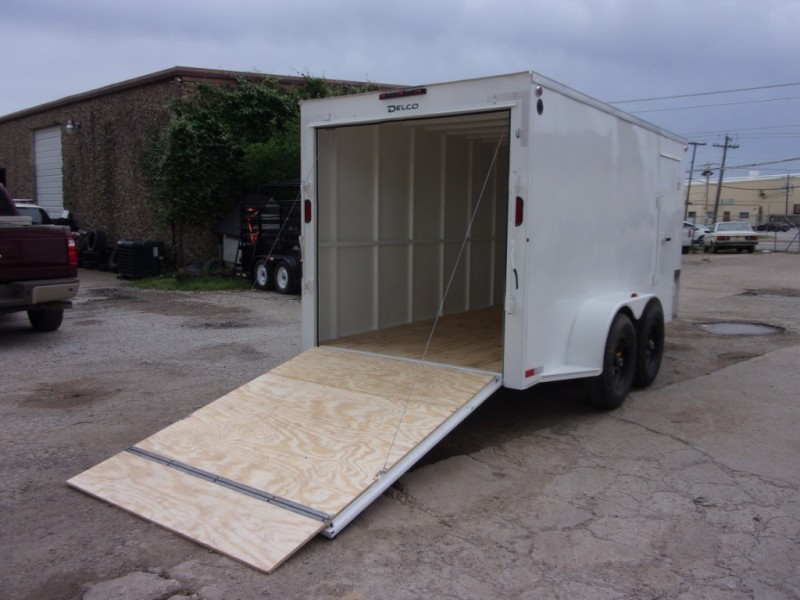 Delco Trailers 14X7 ENCLOSED BUMPERPULL 10K 2019 price $7,795