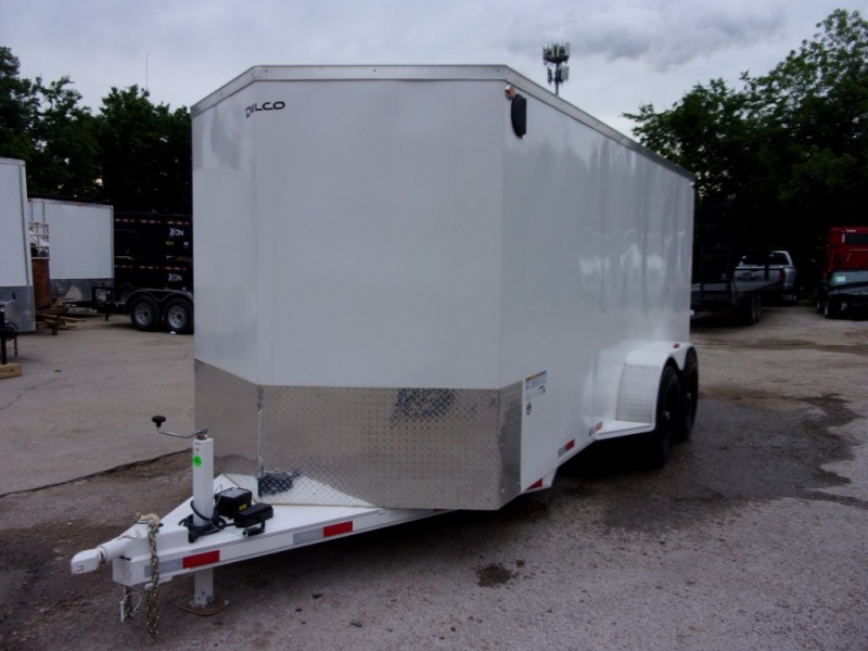 Delco Trailers 16X7 ENCLOSED DUMPERPULL 10K 2019 price $7,995