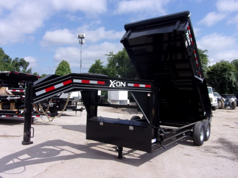 X-ON 16X83 GOOSENECK DUMP 2019 price $8,895