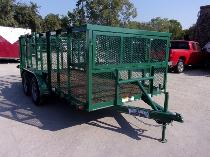 Texas Bragg Trailers 14X7 LANDSCAPING TRAILER 2020 price $3,895