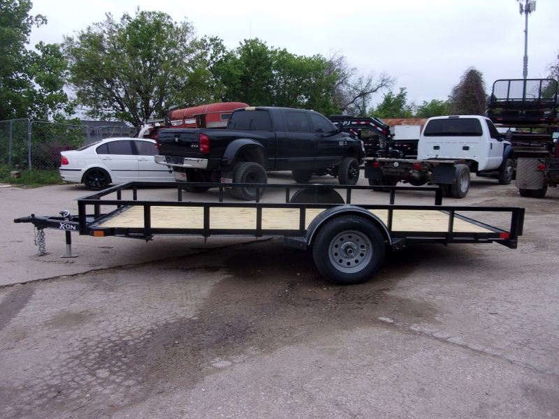 X-ON 14X77 UTILITY TRAILER W SLIDE IN RAMPS 2020 price $2,395