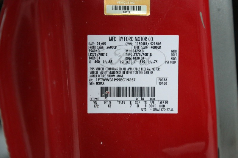 Ford Super Duty F-350 SRW 2005 price $10,950