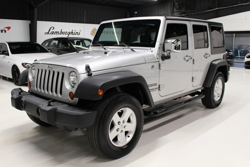 2010 Jeep Wrangler Unlimited Sport >> 2010 Jeep Wrangler Unlimited Sport 4wd 4dr