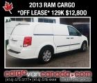 RAM Cargo Van 2013