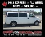 Chevrolet Express Passenger 2012