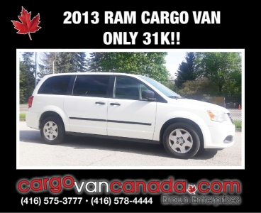2013 RAM CARGO C/V  ~ 31K!!