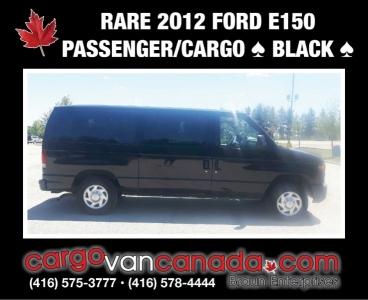 RARE - 2012 BLACK E150 PASSENGER / CARGO only 81K