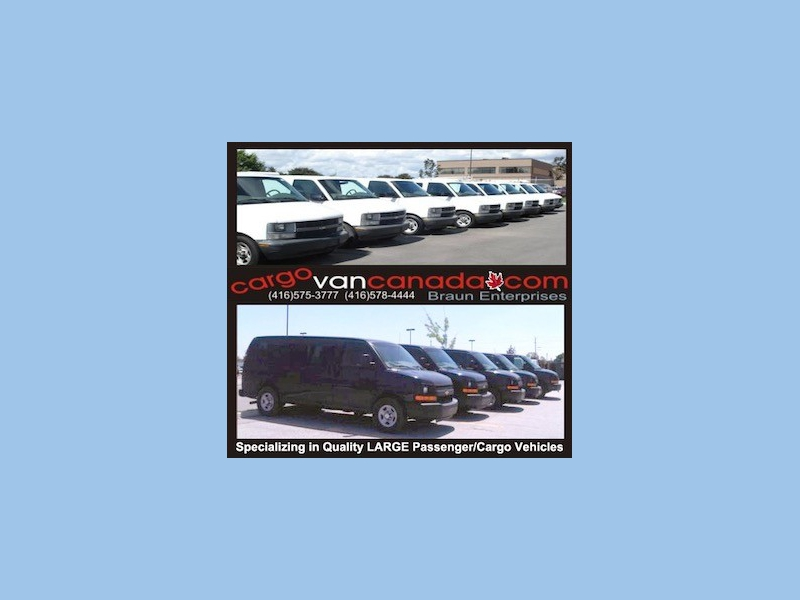 GMC Savana Cargo Van 2012 price 11900 + Tax