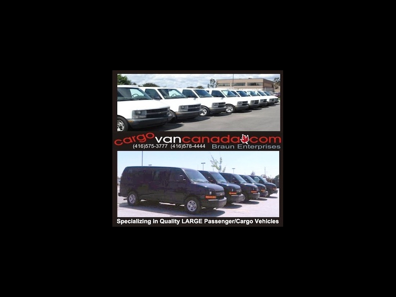 GMC Savana Cargo Van 2012 price 11400 + Tax