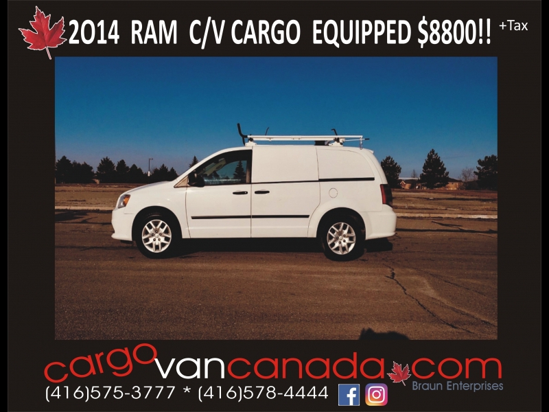 RAM RAM C/V Cargo 2014 price 8800 + Tax