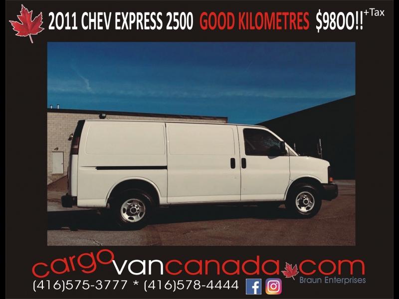 Chevrolet Express Cargo Van 2011 price 9800 + Tax