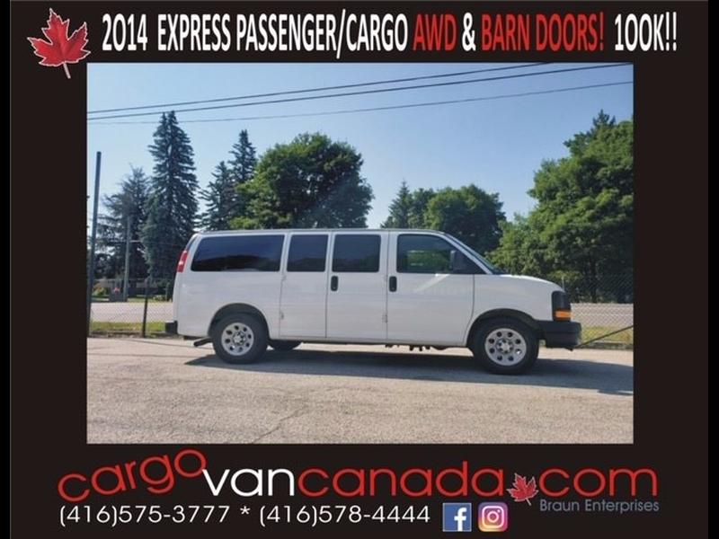 Chevrolet Express Passenger 2014 price 23500 + Tax