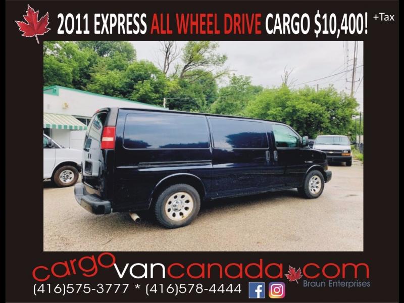 Chevrolet Express Cargo Van 2011 price 10400 + Tax