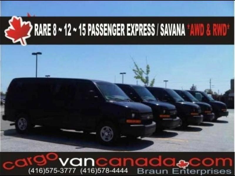 Chevrolet 8, 12 & 15 Express Passenger 0000 price CALL US !!