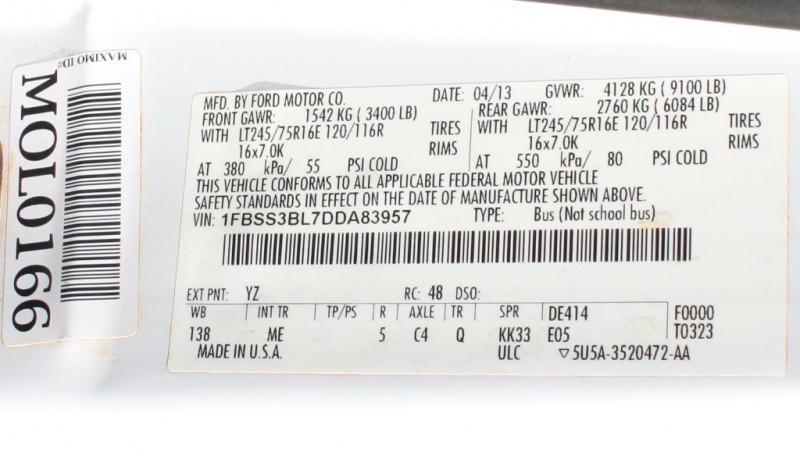 Ford PASSENGER VAN 2013 price