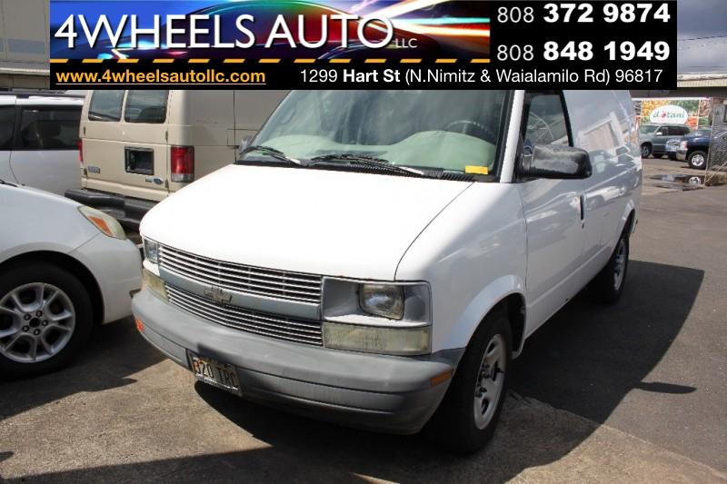 2003 Chevrolet Astro Cargo Van Wb Rwd