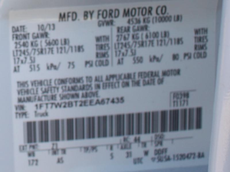 Ford Super Duty F-250 DIESEL POWER 4X4 STROKE 2014 price
