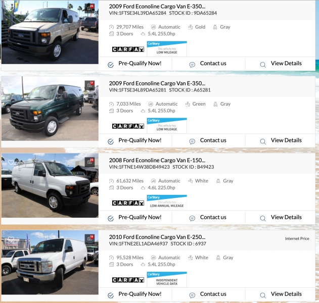 RAM Tradesman Cargo Van 2014 price