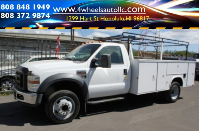 2008 Ford Super Duty F-450 DIESEL Extended bed