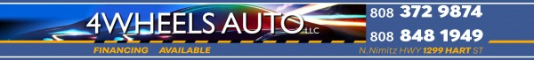 4 WHEELS AUTO LLC
