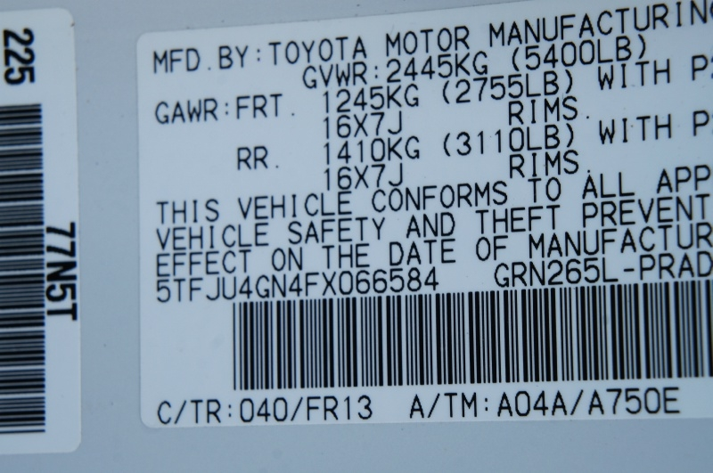 Toyota Tacoma 2015 price $19,900