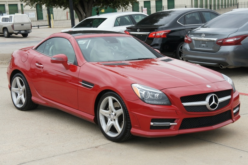Mercedes-Benz SLK 2016 price $20,900