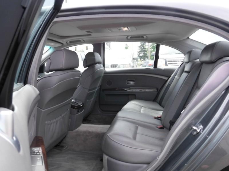 2007 BMW 7-Series 750Li 4dr Sedan