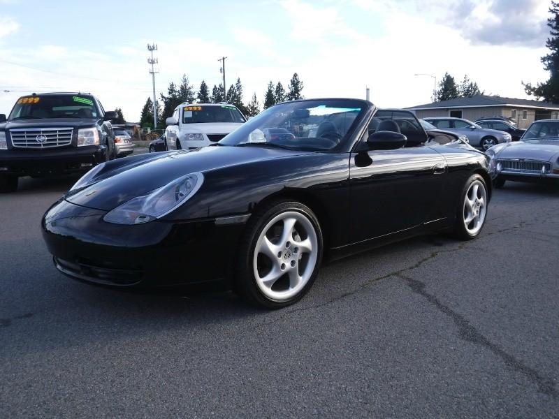 2001 Porsche 911 Carrera 4 Cabriolet 2dr Carrera 4 Cabriolet Awd 6 Spd Manual