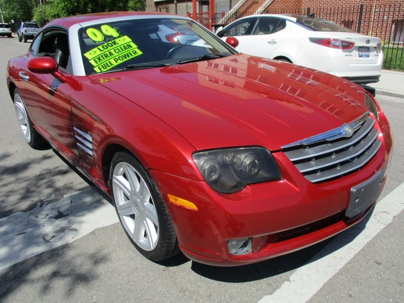 CHRYSLER CROSSFIRE 2004 price $6,495