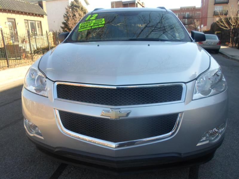 CHEVROLET TRAVERSE 2012 price