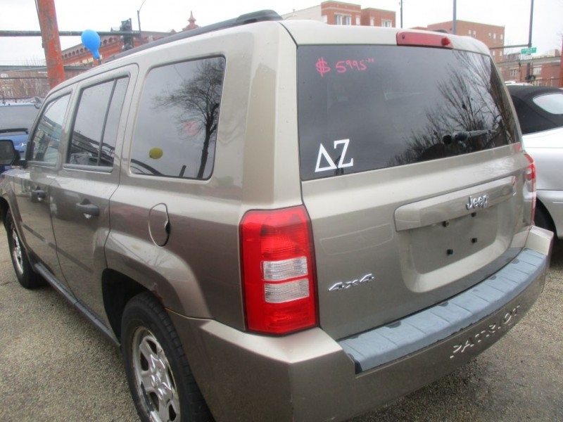 JEEP PATRIOT 2008 price