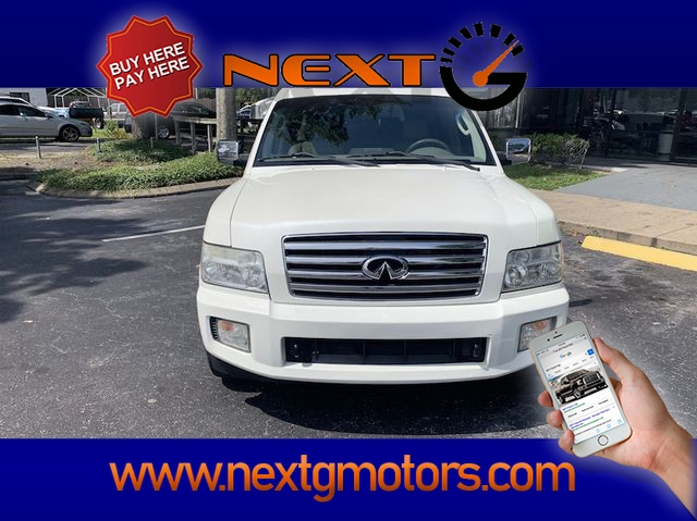 INFINITI QX 2004 price $7,500