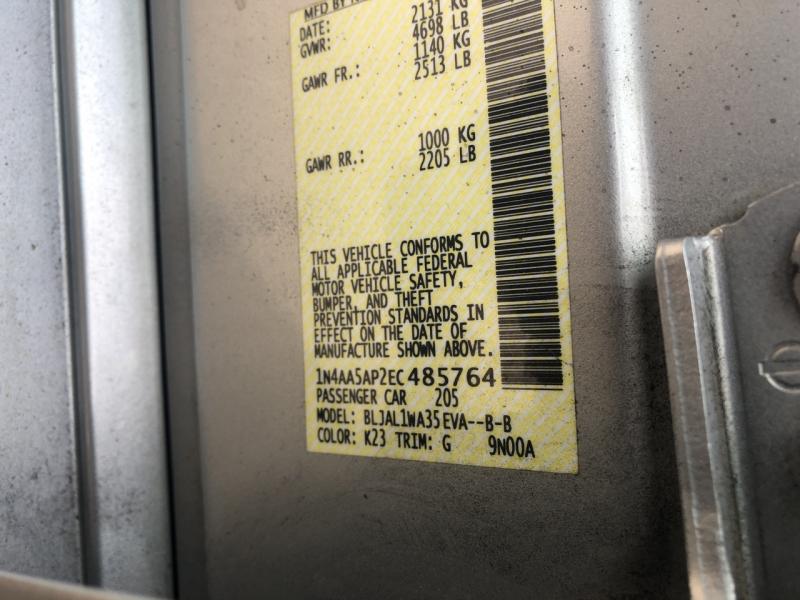 Nissan Maxima 2014 price $11,985