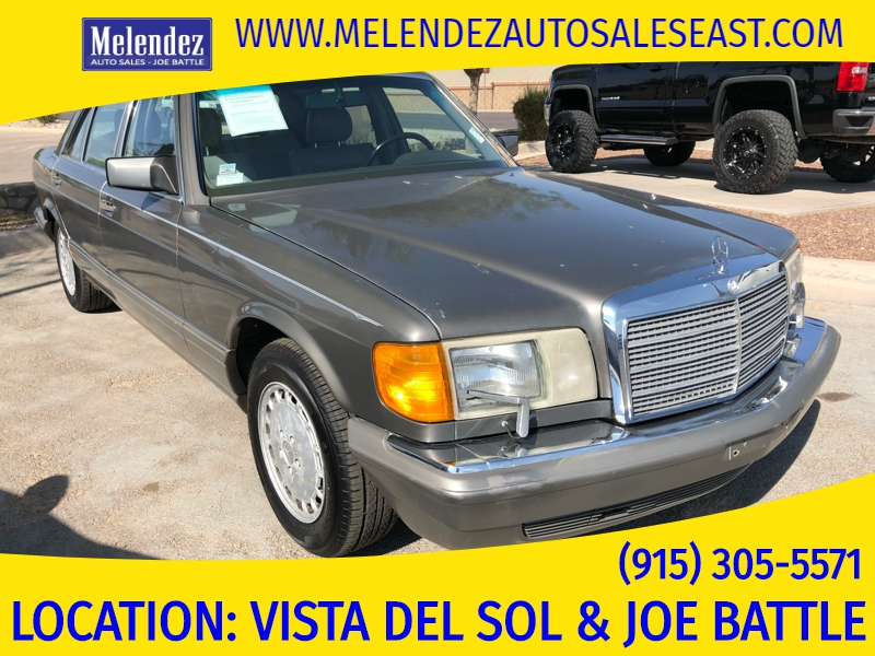 Mercedes-Benz 560 Series 1987 price $8,450