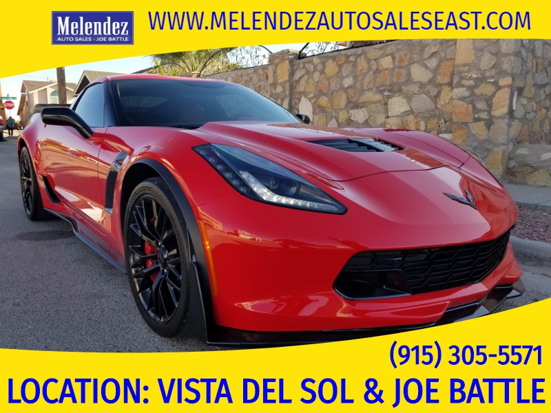 Melendez Auto Sales >> 2016 Chevrolet Corvette 2dr Z06 Cpe W 3lz