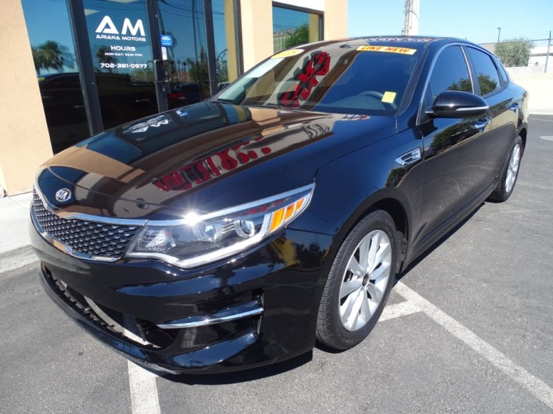 Kia Optima 2018 price $16,995