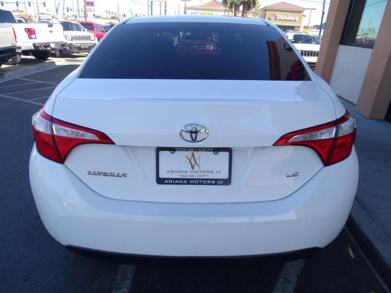 Toyota Corolla 2014 price $13,796