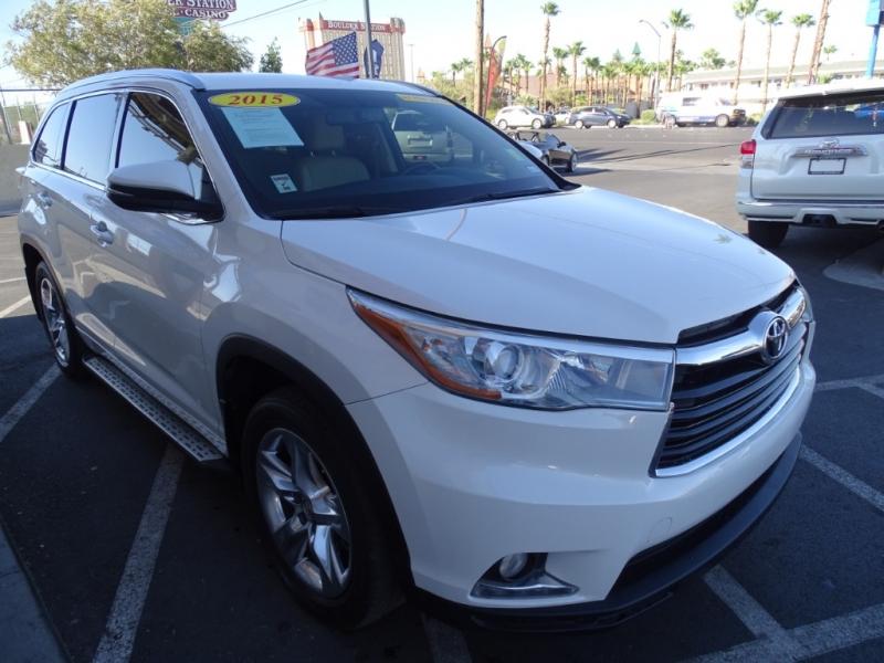 Toyota Highlander 2015 price $21,995