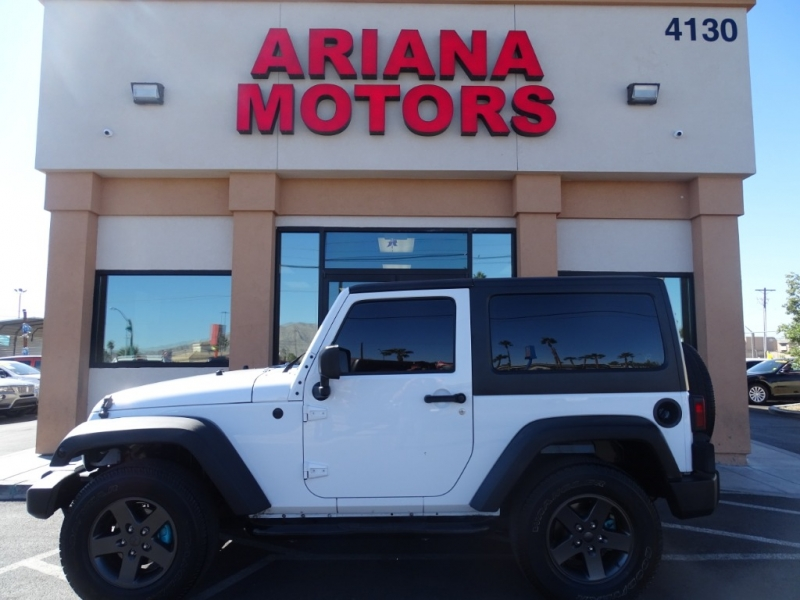 Jeep Wrangler 2011 price $17,795