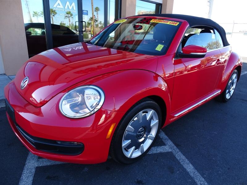 Volkswagen Beetle Convertible 2015 price $13,995