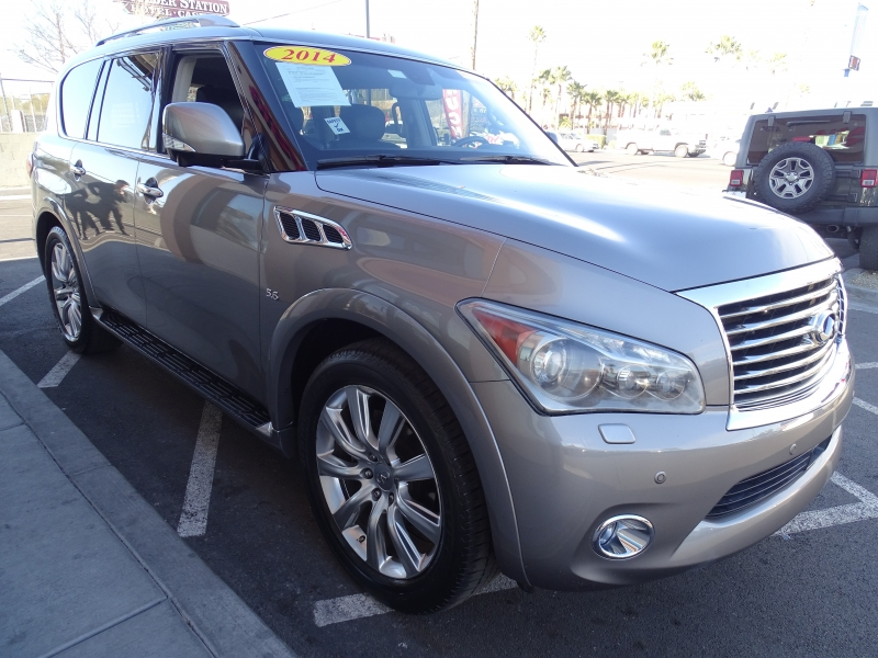 INFINITI QX80 2014 price Call for Pricing.