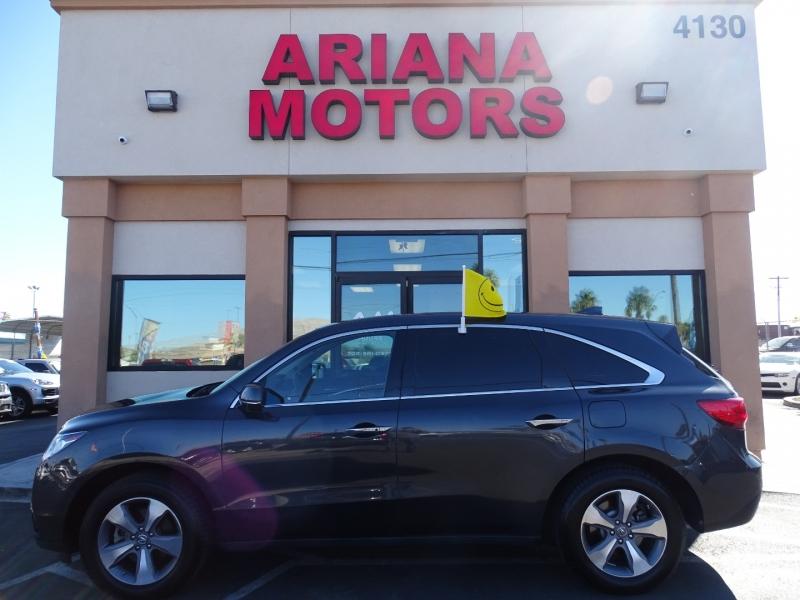 Acura MDX 2015 price $24,995