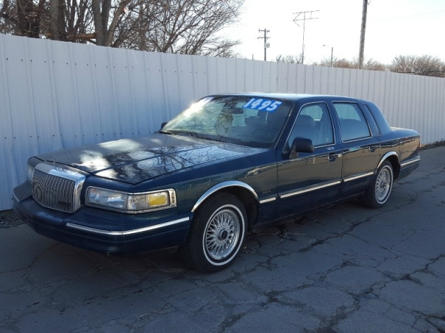 1997 Lincoln Town Car 4dr Sdn Executive Inventory Old Town