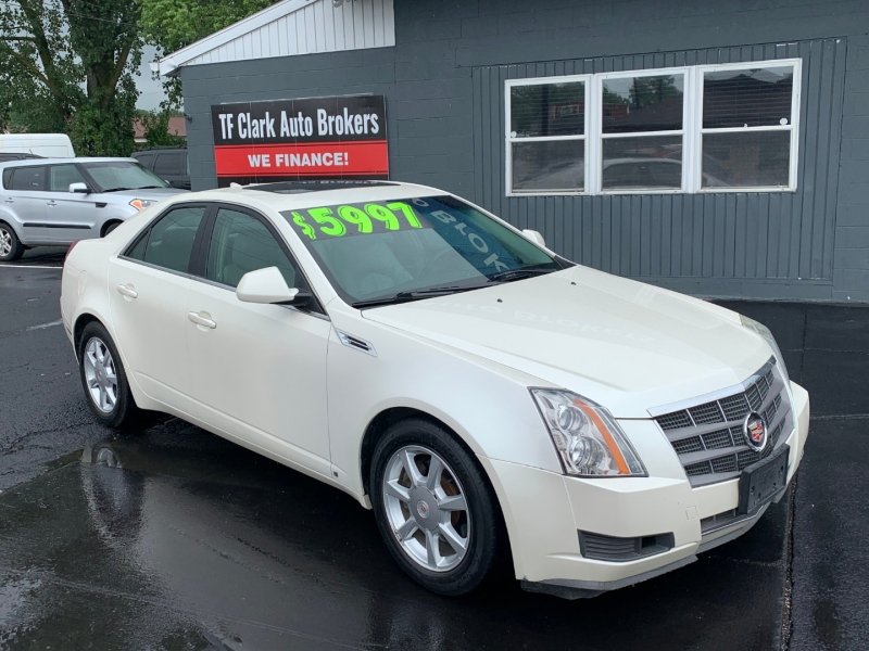 Cadillac CTS 2009 price $5,997