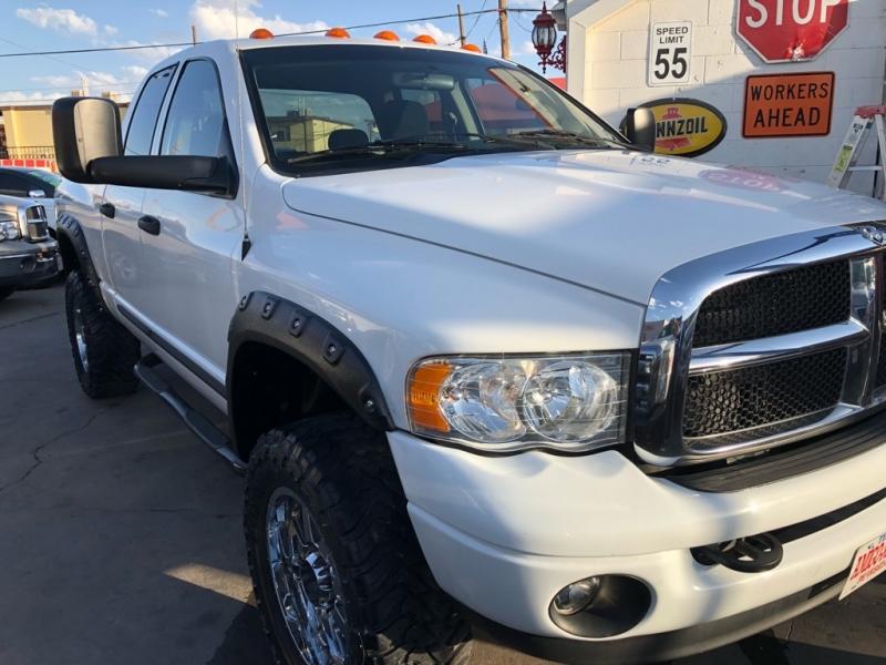 Dodge Dealership El Paso >> 2005 Dodge Ram 2500 4x4 5.9L Cummins 4dr Quad Cab 4WD SLT - Inventory | AMIGO MOTORS | Auto ...