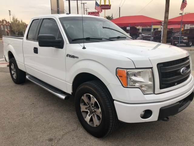 2013 Ford F-150 EXT-CAB 4X4