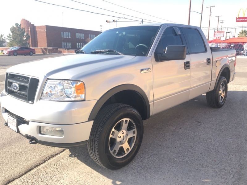 Ford F-150 CREW-CAB 4X4 2004 price $6,995