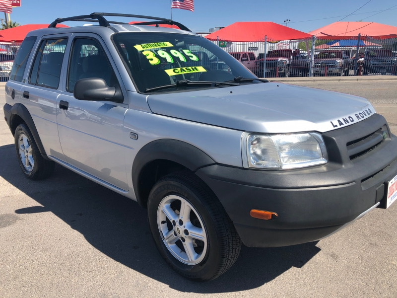 Land Rover Freelander 2003 price $3,995