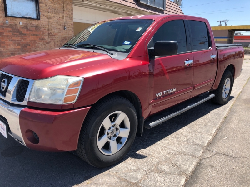 Nissan Titan 2007 price $7,495
